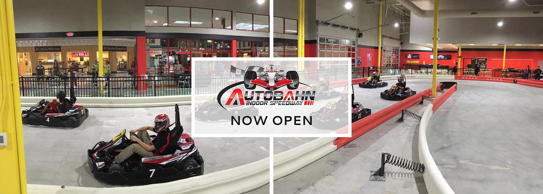 Autobahn Indoor Speedway - Now Open!