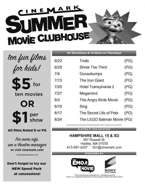 Summer Movie Clubhouse
