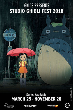 Studio Ghibli Fest 2018 - Hampshire Mall