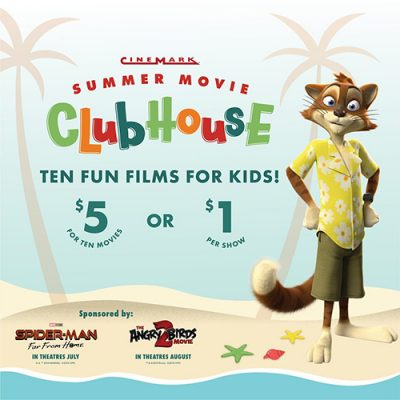 Cinemark Summer Clubhouse