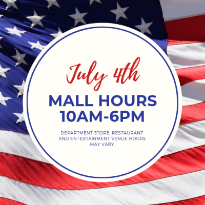 July 4th Mall Hours