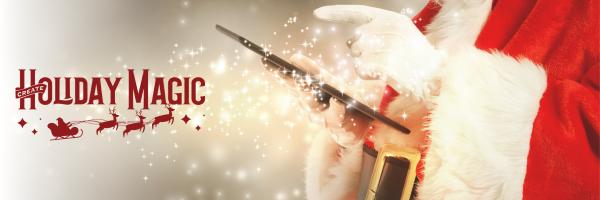 Create Holiday Magic Header
