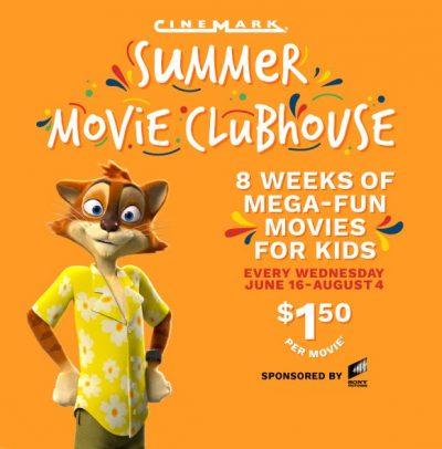Cinemark Movie Clubhouse